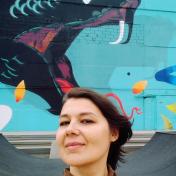 Painter Katerina Borodavchenko