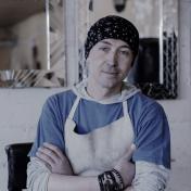 glass painter Andrey Batuhtin