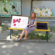 Painter Irina Makovetskaya