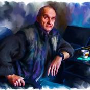Painter Yauheni Chanau