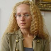 Painter Irina Dobrovetska