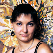 Painter Tatiana Ignat