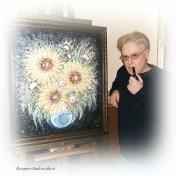 Painter Yuriy Karpov-Sadovnikov