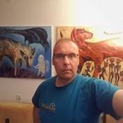 Painter Redas Luciunas