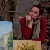 Painter Natali Romanovskaya