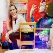 Painter Inna Prodan