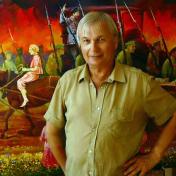 Painter Vasily Ptyukhin