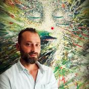 Painter David Tsitskishvili