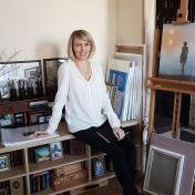 Painter Olha Krasko