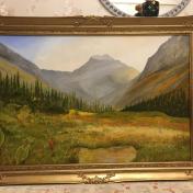Painter Daulet Baidybek