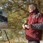 Painter Aleksey Mundt