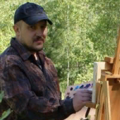 Painter Viktor Vaveykin