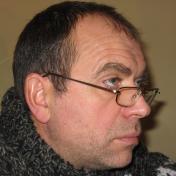 Painter Oleksii Maslov