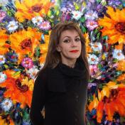 Painter Iryna Kastsova