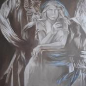 Painter Polina Danilova