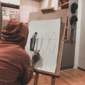 Painter Denis Yakovenko