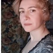 Painter Alexandra Golubeva