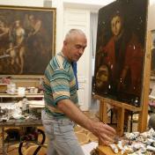 Painter Peter Kysheniuk
