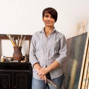 Painter Olga Shagina