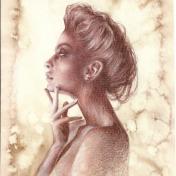 Painter Natasha Mishareva