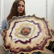 Painter Vasylyna Bystrytska