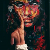 Painter Sergey Galanter