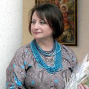 Painter Galina Morozova