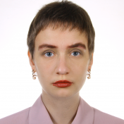 Painter Daria Hryhorova