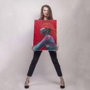 Painter Anastasiya Storozheva