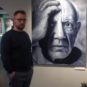 Painter Andrew Voron