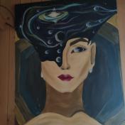 Painter Kristina Chernyshuk