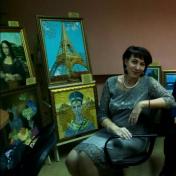 Painter Rimma Tagirova