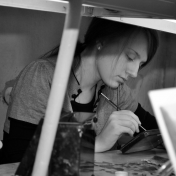 Painter Marina Bogdanova