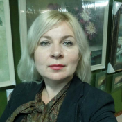 Painter Olga Samchuk