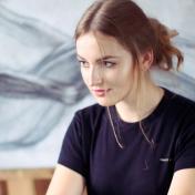 Painter Natalia Myrauyova