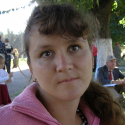 Painter Natasha Masalitina