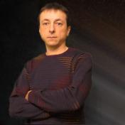 Painter Oleg Dyshkant