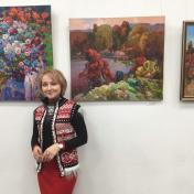 Painter Alina Slavgorodskaya