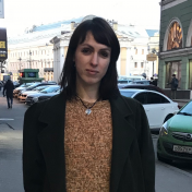 Painter Anastasiia Kirillova