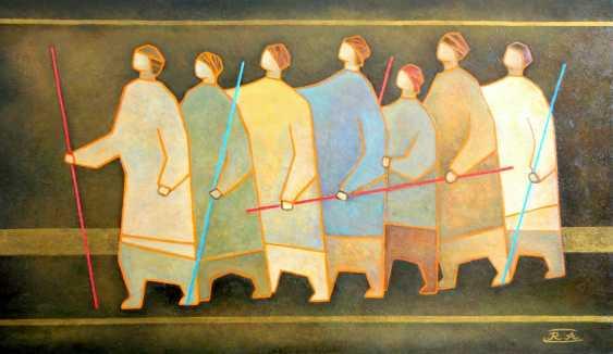 Rafail Aliyev. Parable of the blind - photo 1