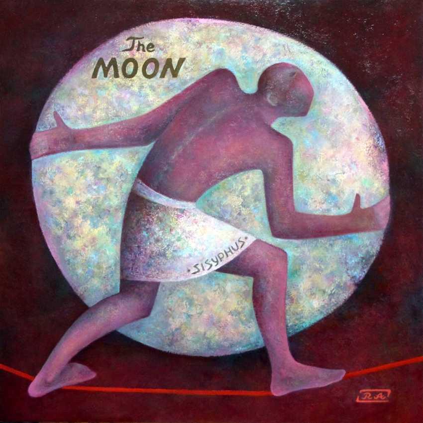 Rafail Aliyev. Sisyphus pushing the moon - photo 1