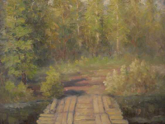 Vladimir Nepomnyaschiy. Holz-Brücke - Foto 1