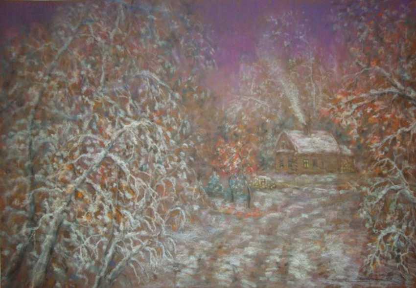 Vladimir Nepomnyaschiy. Zimushka-winter.The small house of the Forester. - photo 1