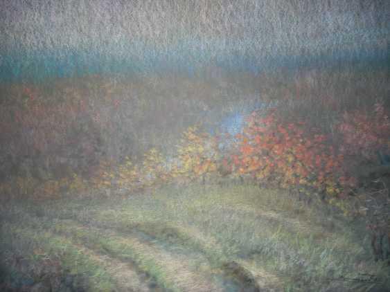 Vladimir Nepomnyaschiy. Autumn hills - photo 1