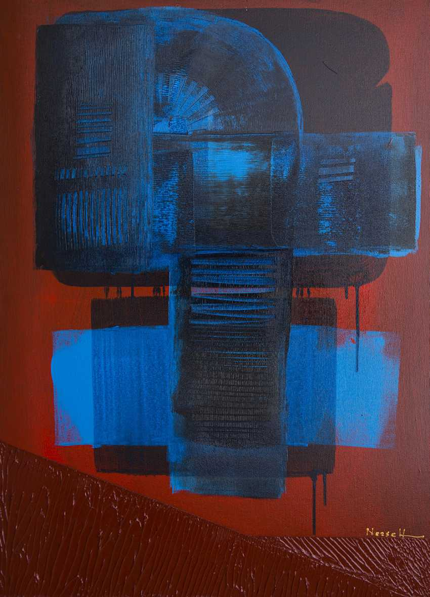 Nerseh Khalatyan. Blue on Red - photo 1