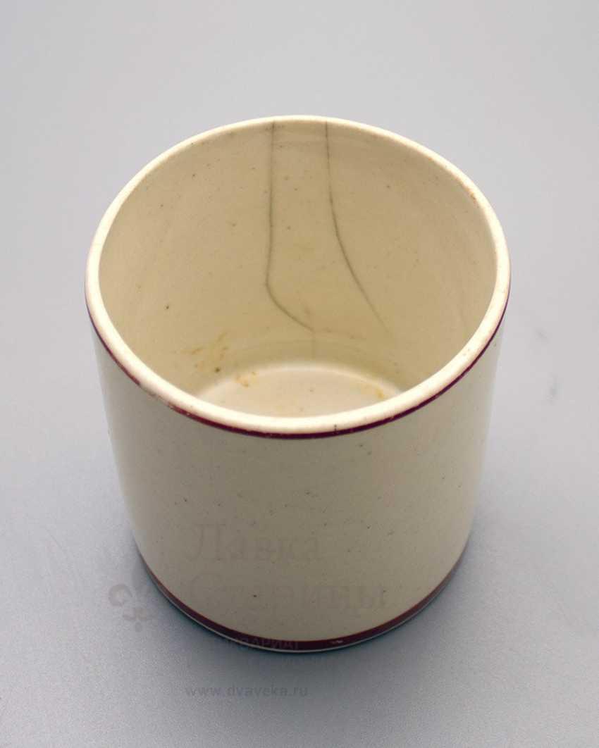 "Campaign Cup ""Crush the fascist invaders"", porcelain, Dulevo, USSR - photo 3"