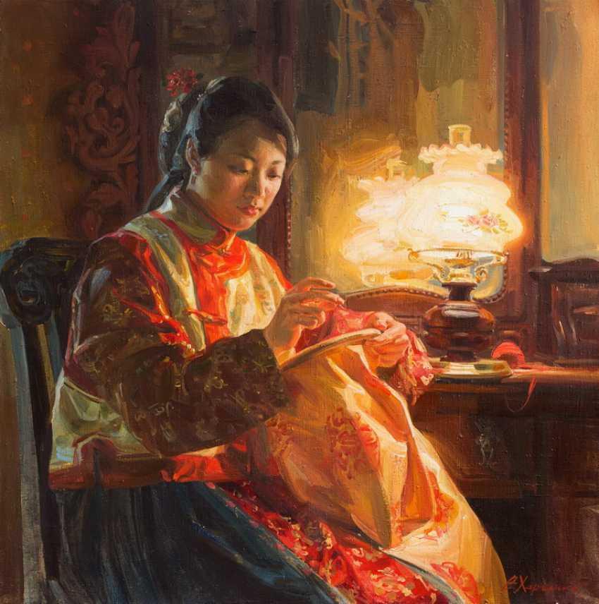 Victoriia Kharchenko. Golden silk - photo 1