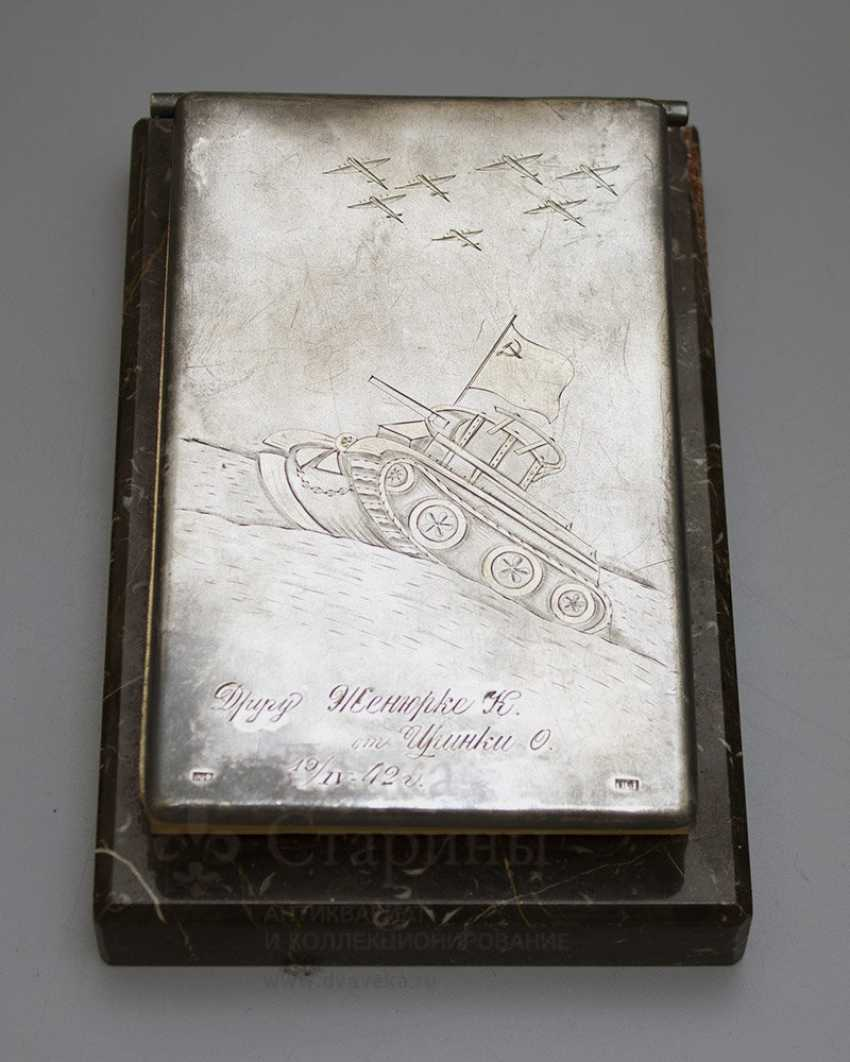 "The Desk pad of the second world war ""the Soviet Army"" - photo 2"
