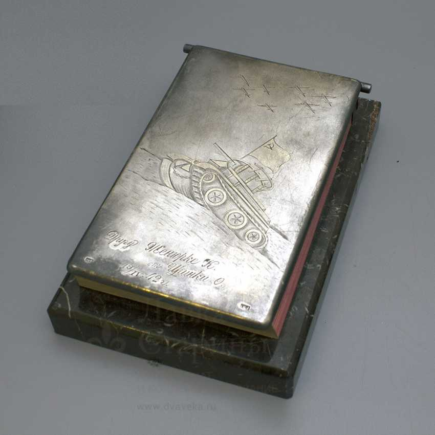 "The Desk pad of the second world war ""the Soviet Army"" - photo 1"