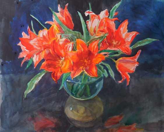 """Swetlana Yegorova. """"Bouquet of tulips"""" - photo 1"""